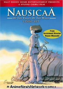 Nausicaä of the Valley of Wind DVD