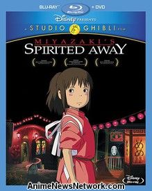 Spirited Away BD+DVD