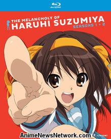 The Melancholy of Haruhi Suzumiya Blu-Ray