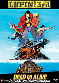 Lupin III: Dead or Alive DVD