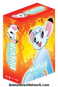Kimba the White Lion Dub.DVD