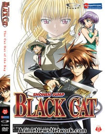 Black Cat DVD 1