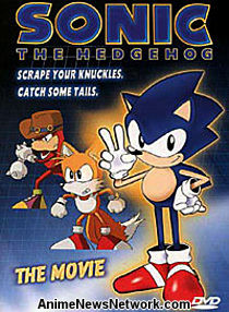 Sonic the Hedgehog: The Movie DVD