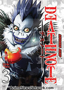 Death Note DVD 3