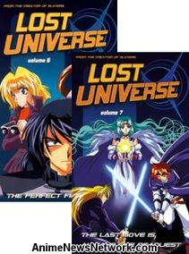 Lost Universe VHS 6-7
