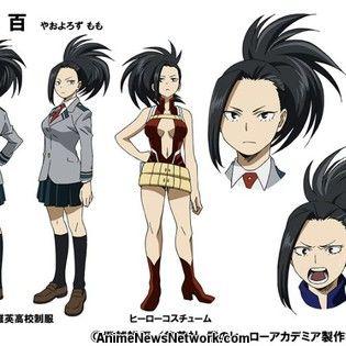 My Hero Academia Reveals Character Designs For Momo