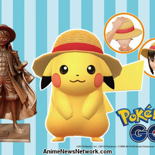 Pikachu Joins the Straw Hat Crew in Pokemon GO Campaign