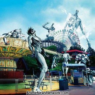 Attack on Titan FINAL Exhibition Crashes Into Osaka