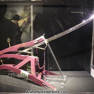 Inside the Evangelion and Japanese Swords Exhibit
