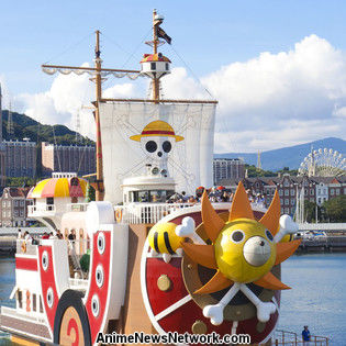 One Piece Ship Returns to Nagasaki after 4.5 years