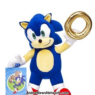 Build A Bear Uk Sonic
