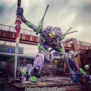 World's Largest Evangelion Statue Earns Guinness Record in Shanghai