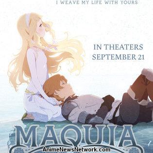 Maquia Film Earns US$161,000 at U.S. Box Office
