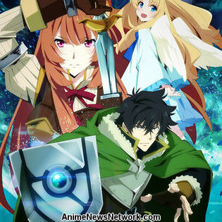 The Rising of The Shield Hero Anime Listed With 25 Episodes