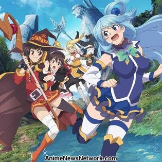 KONOSUBA - God's blessing on this wonderful world! Anime Film Gets 4DX Screenings in Japan