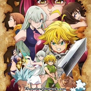 The Seven Deadly Sins Anime Gets Fall TV Show to 'Head Toward Climax' With New Studio