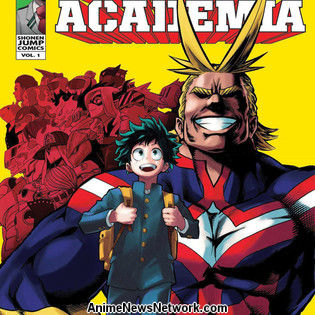 My Hero Academia Gets New Spinoff Manga This Month