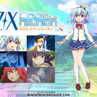 Z/X Code Reunion TV Anime Premieres on October 8