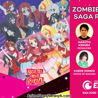 Crunchyroll Expo Hosts Zombie Land Saga Anime's Cast, Staff