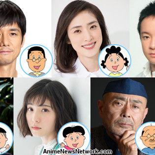 Live-Action Sazae-san TV Sequel Special Reveals Cast