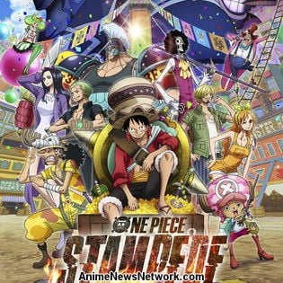 Funimation to Screen One Piece Stampede Film in U.S., Canada This Fall