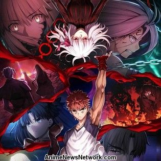 3rd Fate/stay night: Heaven's Feel Anime Film's 2nd Key Visual Revealed in Video