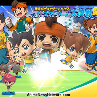 Inazuma Eleven SD Smartphone Game Delayed to Early December