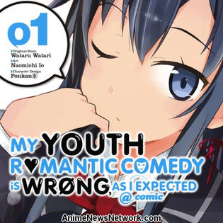'My Youth Romantic Comedy Is Wrong, As I Expected' Manga to End Soon
