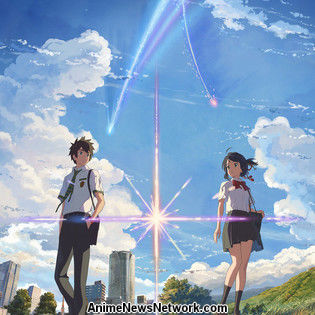Makoto Shinkai's 'your name.' Film Earns 6.2 Billion Yen, Tops Box Office For 3rd Week