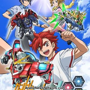 Gundam build fighters try island wars to stream with for Domon gundam build fighters try