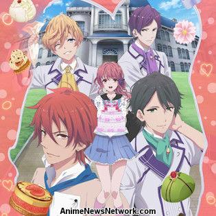 Anime of Girls' Mobile Game Bonjour Koiaji Pâtisserie ...