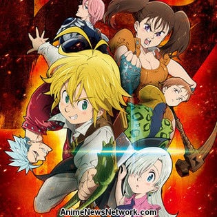 Seven Deadly Sins Ranks #4 Among Netflix Shows Most Watched Within 24 Hours