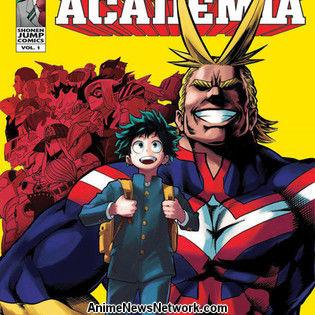 My Hero Academia Wins Best Manga at Harvey Awards