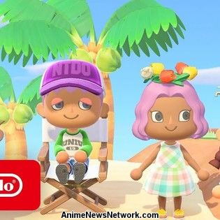 Animal Crossing: New Horizons Switch Game's Trailer