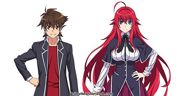 High School DxD Hero Anime Premieres in April