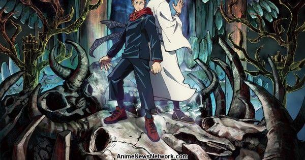 Jujutsu Kaisen Anime Reveals 1st Key Visual