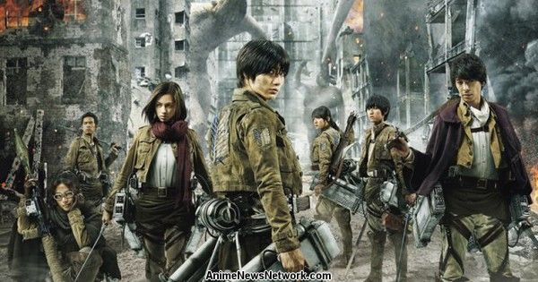 1st Live-Action Attack on Titan Film Opens in Philippines in August