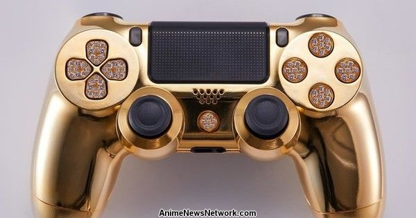 Gold-Plated, Diamond-Encrusted PS4 Controller Can Be Yours for US$13,995