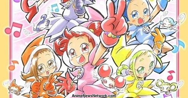 Ojamajo Doremi 20th Anniversary Website Opens, New Merch Revealed