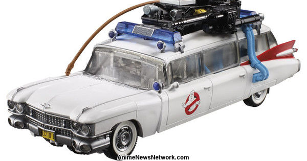 Ghostbusters' Ecto-1 Gets Autobot Transformation