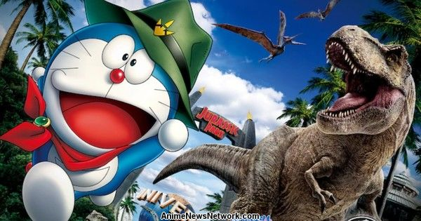 Universal Studio Japan's Jurassic World Area Collaborates with Latest Doraemon Film