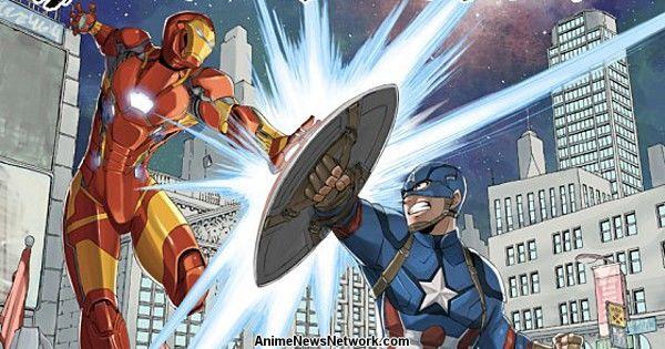 Fairy Tail's Hiro Mashima Draws Captain America: Civil War Posters