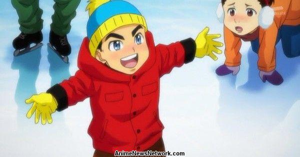 South Park сделал отсылку к аниме Yuri on Ice, а авторы Yuri on Ice ответили другой отсылкой к South Park