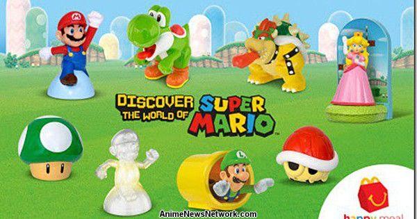 Super Mario & Crew Head to U.S. as Happy Meal Toys