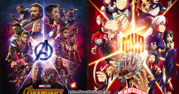 My Hero Academia Characters Show Off Their Avengers Fandom in