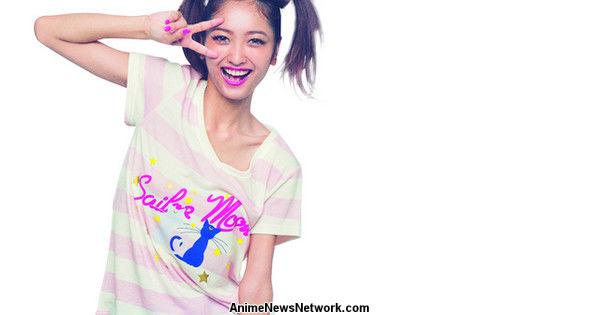 Lingerie Models Show Off Their Sailor Moon Spirit
