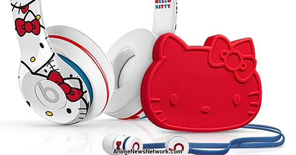 Hello Kitty Drops the Beats with Headphone Collaboration