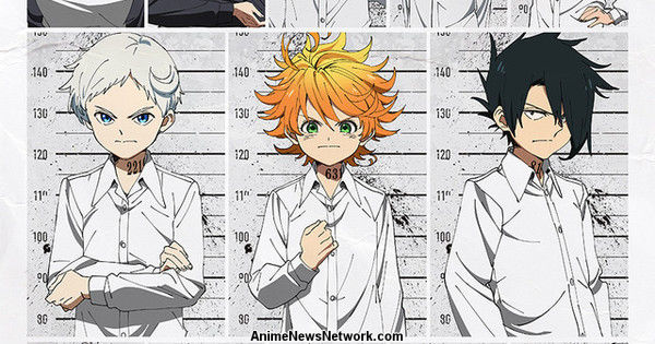 The Promised Neverland Anime Reveals Cast, Staff, Character