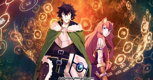 Crunchyroll Reveals Streaming Territories for The Rising of The Shield Hero Anime