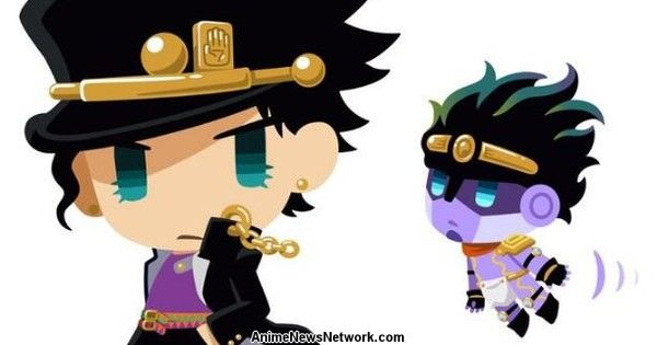 JoJo's Bizarre Adventure's Super-Deformed Character Project